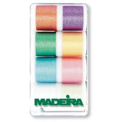 Madeira Metallic embroidery thread 8x200m - 1pc