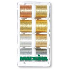 Madeira Heavy Metal metallic embroidery thread 8x100m - 1pc