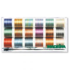 Madeira Polyneon Multicolour embroidery thread 18x200m - 1pc