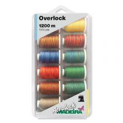 Madeira Aerolock no.125 overlock box 12x1200m - 1pc