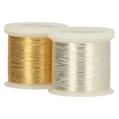 Madeira GoldenSilver sewing & embroidery thread - 3pcs