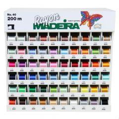 Madeira Display Rayon no.40 60x5x200m - 1pc