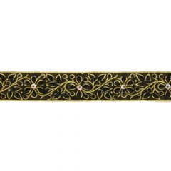 French ribbon sequined 35mm - 9m - 000