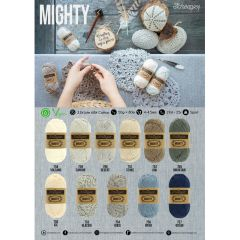 Scheepjes MIGHTY shop poster A2-size - 1pc