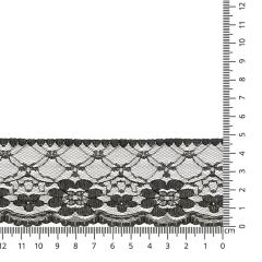 Lace trim nylon 50mm - 25m