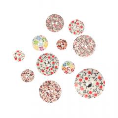 Sale buttons - 11pcs - assortment 2