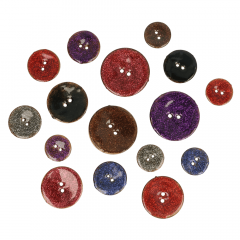 Sale buttons assortment