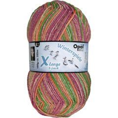 Opal Xlarge Winterspiele 8-ply 8x150g - 9595