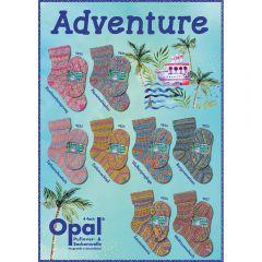 Opal Adventure assortment 5x100g - 8 colours - 1pc