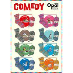 Opal Comedy assortment 5x100g - 8 colours - 1pc