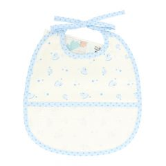 DMC Baby Stars bib 6 months 24.5x29cm - 1pc