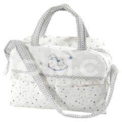 DMC Baby Stars diaper bag 38x42x19cm - 1pc