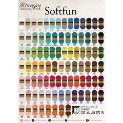 Scheepjes Softfun shop poster A2-size - 1pc