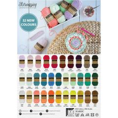 Scheepjes Softfun new colours shop poster A2-size - 1pc