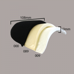 Shoulder pads satin 10mm - 12 pairs