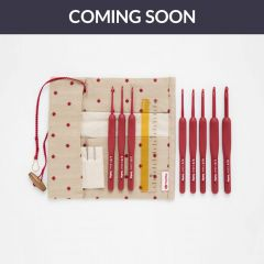 Tulip Etimo Red crochet hook set soft-grip - 1pc