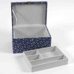 DMC Storage Box rectangular blue 17x24x13cm - 1pc