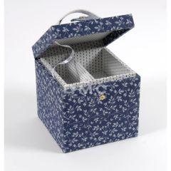 DMC Storage Box Cube blue 16x16x16cm - 1pc