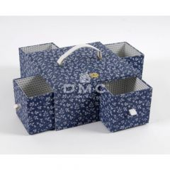DMC Storage Box with Drawers 25x25x12.5cm - 1pc