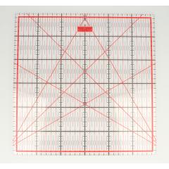 Patchwork ruler 30x30cm - 1pc