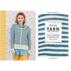 YARN The After Party no.101 Oceanside Cardigan - 20pcs
