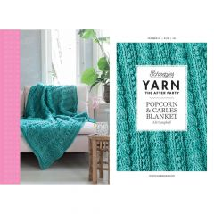 YARN The After Party 24 Popcorn&Cables Blanket NL-UK-DE-SE