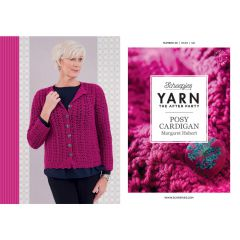 YARN The After Party no.48 Posy Cardigan - 20pcs