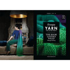 YARN The After Party No.51 Book Lover's Wrap NL-UK-DE-SE